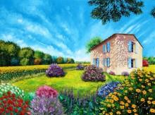 Французский цветочный сад - Жаньячик, Жан-Марк (20 век)