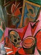 Композиция с черепом - Пикассо, Пабло