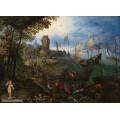 Сценка на Шельде близ Антверпена - Брейгель, Ян (Старший)