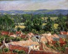 Деревня в Живерни - Моне, Клод