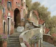 Кафе на лестнице - Борелли, Гвидо (20 век)
