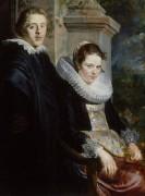 Портрет молодой супружеской четы - Йорданс, Якоб
