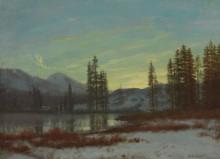 Зимний пейзаж - Бирштадт, Альберт