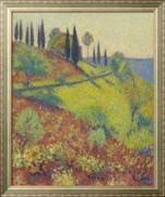 Вид из студии художников, 1920 - Мартен, Анри Жан Гийом
