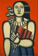 Женщина с книгой - Леже, Фернан