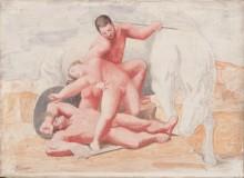 Похищение - Пикассо, Пабло
