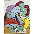 Чтение - Пикассо, Пабло