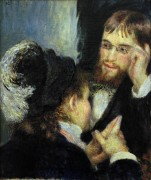 Беседа - Ренуар, Пьер Огюст