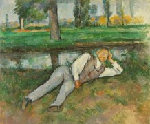 Отдыхающий мальчик - Сезанн, Поль