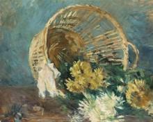 Хризантемы (или Опрокинутая корзинка) - Моризо, Берта