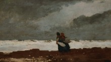 Две женщины на берегу моря - Хомер, Уинслоу