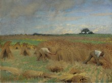 Жнецы, 1891 - Клаузен, Джордж