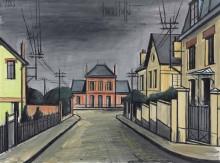 Улица, ведущая к розовому дому - Бюффе, Бернар