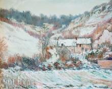 Снег в Фалезе - Моне, Клод