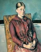 Мадам Сезанн в желтом кресле - Сезанн, Поль
