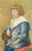 Портрет ребенка, 1899 - Рейссельберге, Тео ван