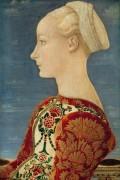 Портрет молодой дамы в профиль - Поллайоло, Антонио дель
