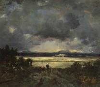 Закат в Оверни - Руссо, Теодор