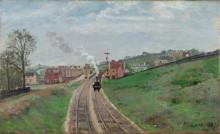 Владения Лейна станция, Далуич, 1871 - Писсарро, Камиль