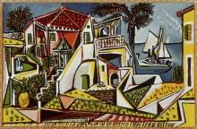 Средиземноморский пейзаж - Пикассо, Пабло