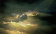 Корабль Мария в шторм - Айвазовский, Иван Константинович