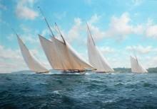 Вестворд возглавляет регату близ острова Уайт - Дьюз, Джон Стивен