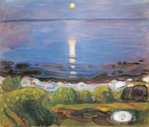 Летняя ночь на побережье - Мунк, Эдвард