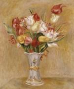 Натюрморт с тюльпанами - Ренуар, Пьер Огюст