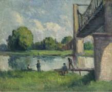 Мост на окраине Анжера, 1916 - Люс, Максимильен