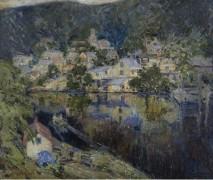 Деревушка на берегу реки (Village by the River) - Фарндон, Уолтер