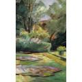 Сад в Ванзе, цветочная терраса, 1925 - Либерман, Макс