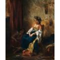 Алжирские женщины в своих комнатах - Делакруа, Эжен