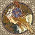 Византийская блондинка - Муха, Альфонс