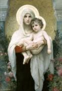 Мадонна в розах - Бугро, Адольф Вильям