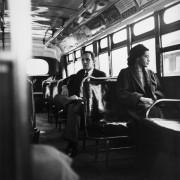 Роза Паркс в автобусе
