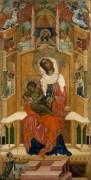 Мадонна с Младенцем на троне с донатором