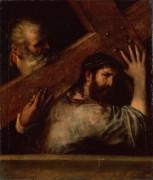 Несение креста - Тициан Вечеллио