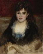 Портрет Нини, 1874 - Ренуар, Пьер Огюст