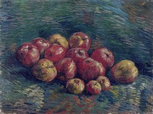 Натюрморт с яблоками, 1887 - Гог, Винсент ван