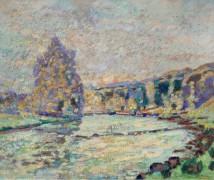 Река из Креза в Генетин, 1905 - Гийомен, Арманд