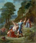 Аллегория весны - Смерть Евридики - Делакруа, Эжен