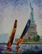 Ветер в Нью-Йорке - Афремов, Леонид (20 век)