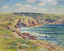 Прибрежные скалы в Бретани - Море, Анри