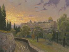 Закат над Иерусалимом - Кинкейд, Томас