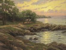 Закат в заливе Монтерей - Кинкейд, Томас