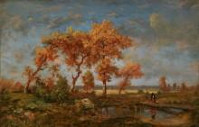 Осенний пейзаж - Руссо, Теодор