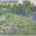 Сад Добиньи (Daubigny's Garden), 1890 - Гог, Винсент ван