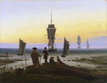 Этапы жизни (пляжные сцены в Вик), 1833 - Фридрих, Каспар Давид