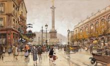 Площадь Бастилии в Париже - Гальен-Лалу, Эжен