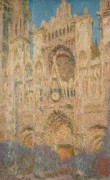 Кафедральный собор в Руане, вечер - Моне, Клод